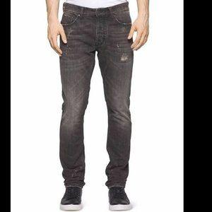 Calvin Klein Men's Straight-Leg Livorno Wash Jeans